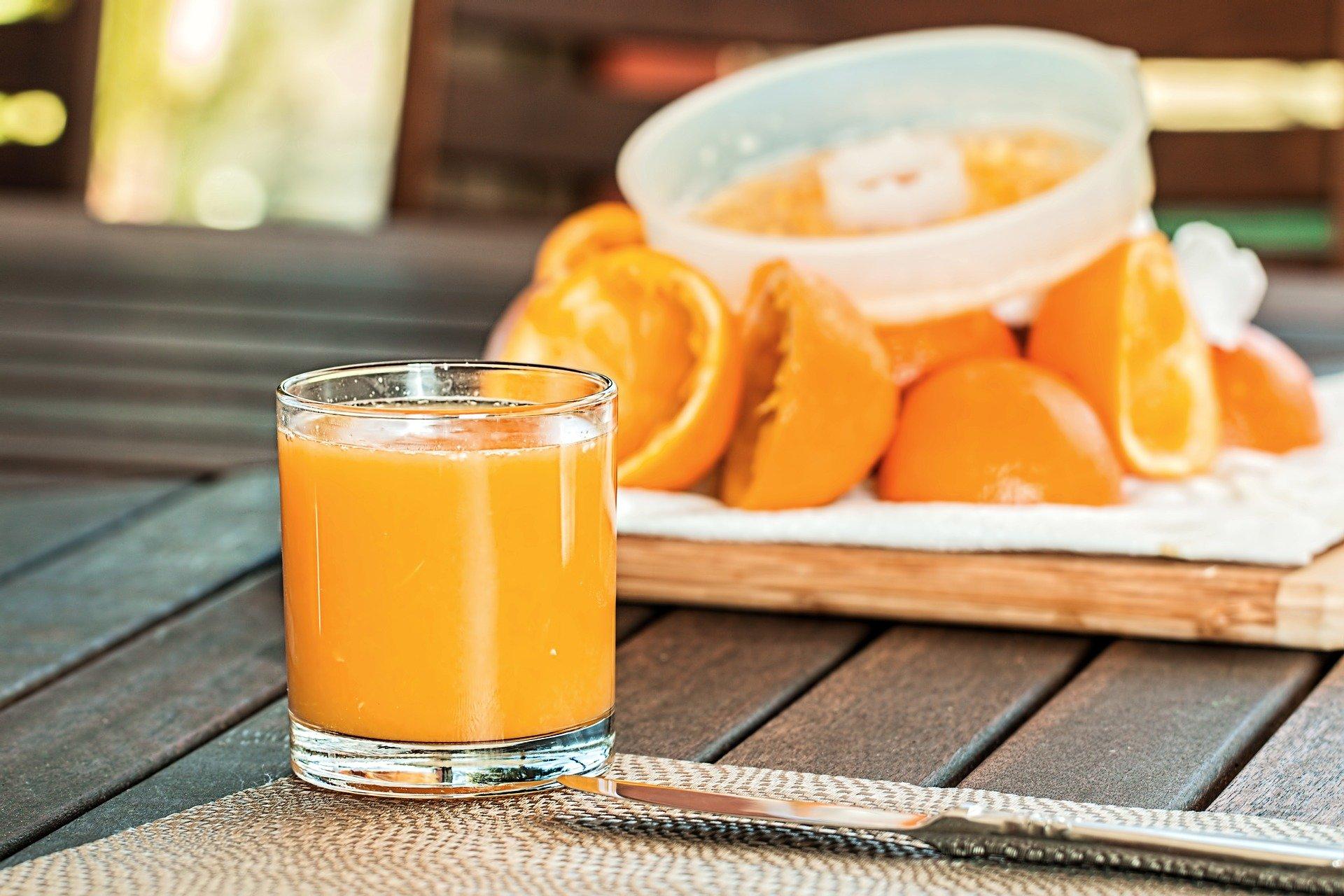 sok ze świeżej pomarańczy